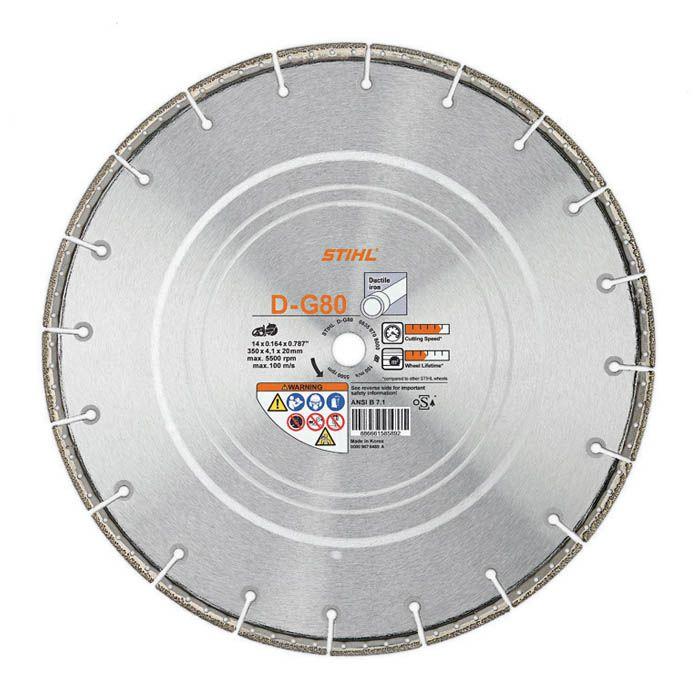 Stihl 350mm Diamond Cutting Wheel Universal D-G80