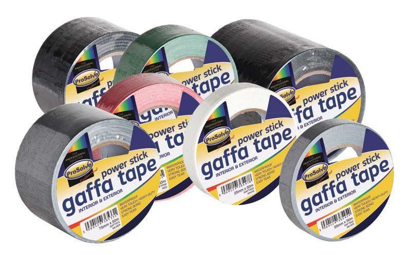 Prosolve Gaffa Tapes