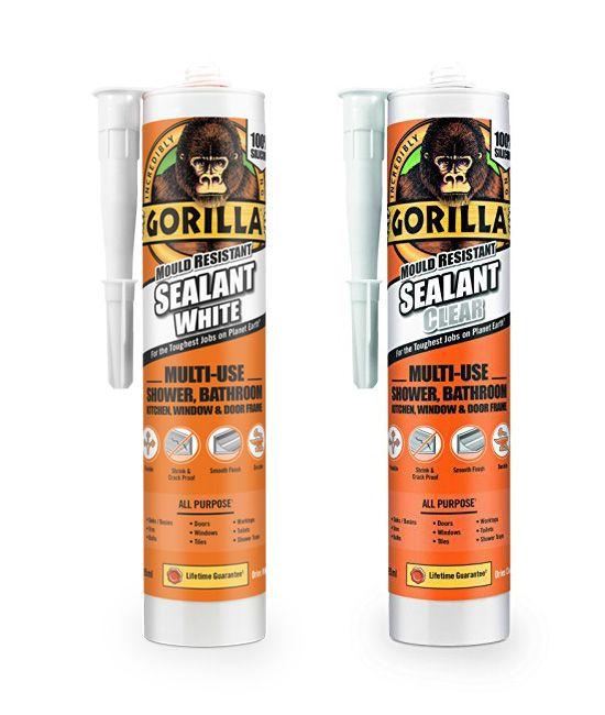Gorilla Glue Mould Resistant Sealant 295ml