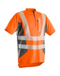 Husqvarna Hi Vis Work T-Shirt - Technical