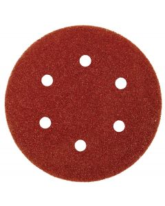 Abracs 150mm Hook & Loop Dust Free Sanding Discs