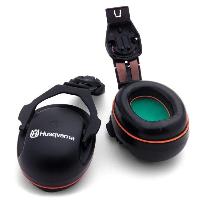 Husqvarna Hearing Protectors Helmet Set - Technical