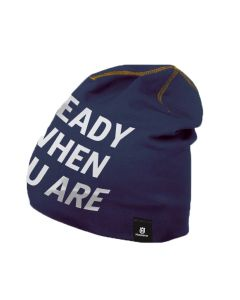 Husqvarna Beanie Hat Navy