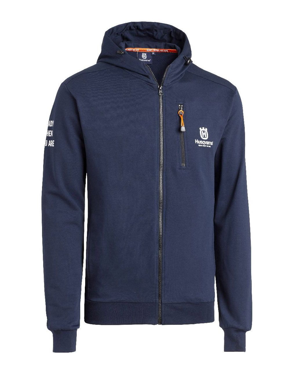 Husqvarna Hooded Jacket Navy