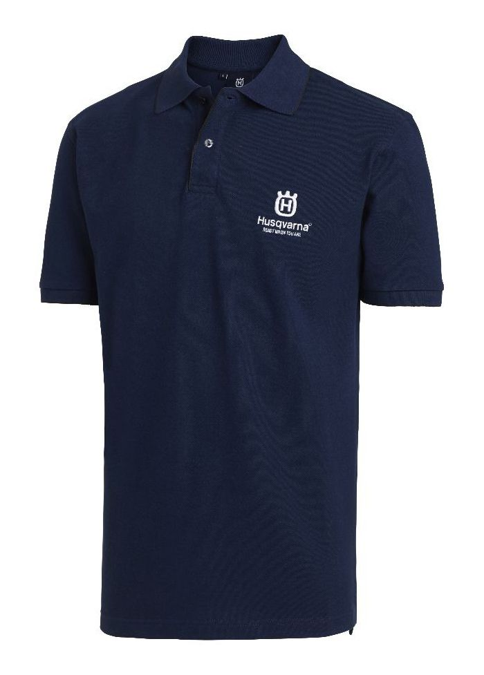 Husqvarna Polo Shirt Navy