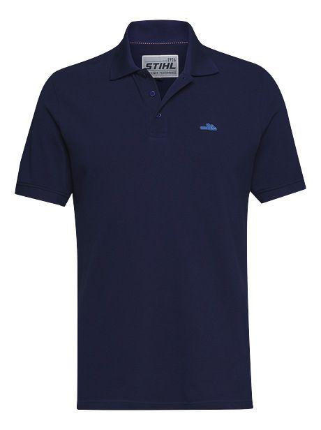 Stihl Icon Polo Shirt Blue