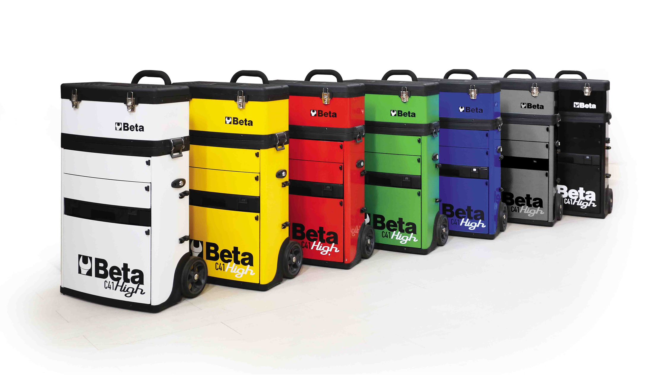 Beta Tools C41H High Two Module Tool Storage Trolley
