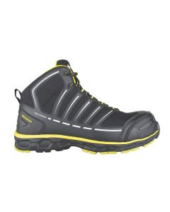 Toe Guard Jumper Safety Boot Black By Snickers