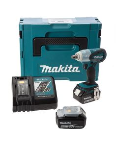 Makita DTW251 18v Cordless Impact Wrench 2x 4.0Ah Batteries