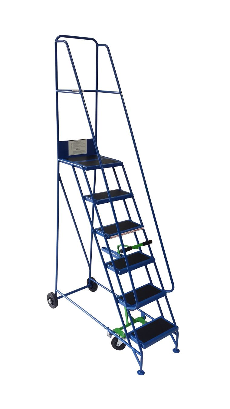 Klime-Ezee Narrow Aisle Warehouse Mobile Safety Steps