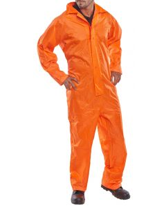 B-Dri Nylon Coverall Overalls Orange