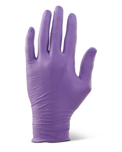 Click 2000 Nitrile Disposable Gloves Powder Free Purple