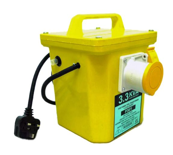 Electro-Wind 3.3 KVA 110V Power Tool Transformer 1x 32A Outlet