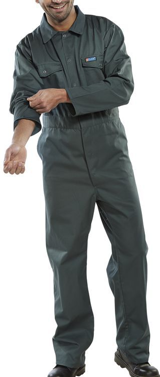 Click Workwear Boilersuit Overalls Spruce Green