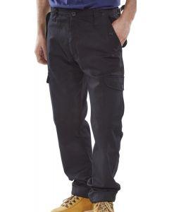 Click Workwear Combat Trousers Black