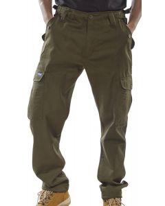Click Workwear Combat Trousers Khaki