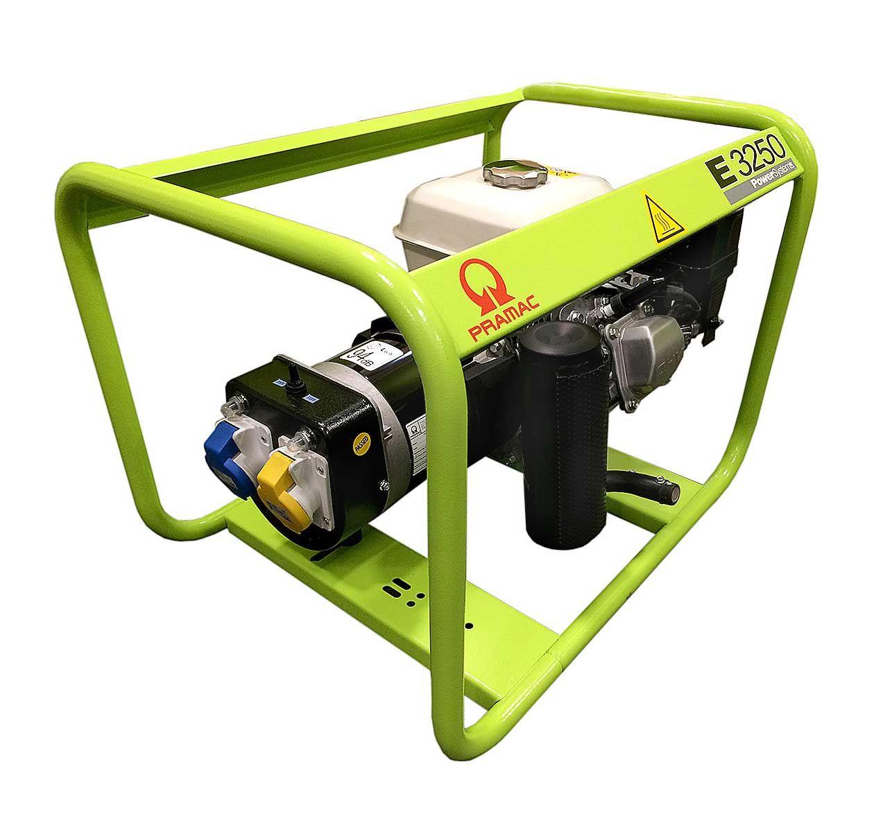 Pramac E3250 2.8 KVA Honda Engine Petrol Generator