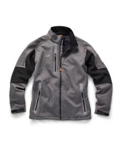Scruffs Pro Softshell Jacket Grey