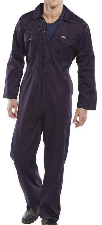 Click Workwear Regular Boilersuit Overalls Navy