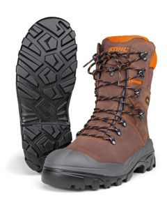 Stihl Dynamic S3 Leather Chain Saw Boots