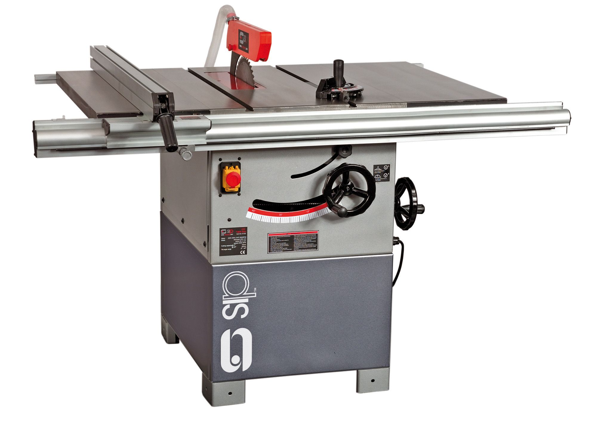 SIP 315mm Heavy Duty Cast Iron Table Saw 3000W 230v