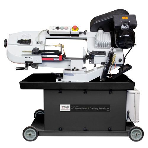 "SIP 8"" Swivel Metal Cutting Bandsaw 1100W 230V"