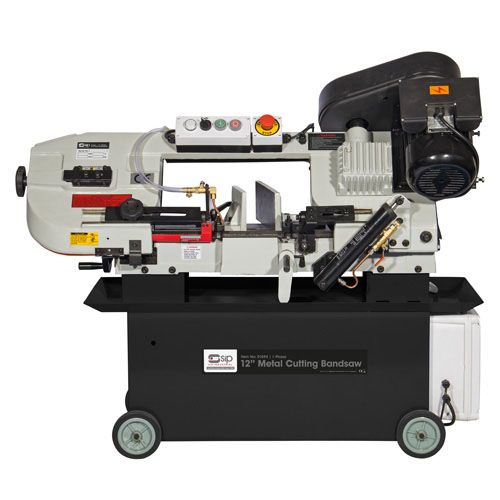"SIP 300mm / 12"" Metal Cutting Horizontal Bandsaw"