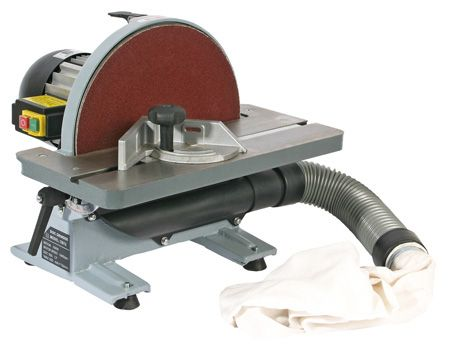 "SIP 12"" Bench Mounted Disc Sander 550W 230V"
