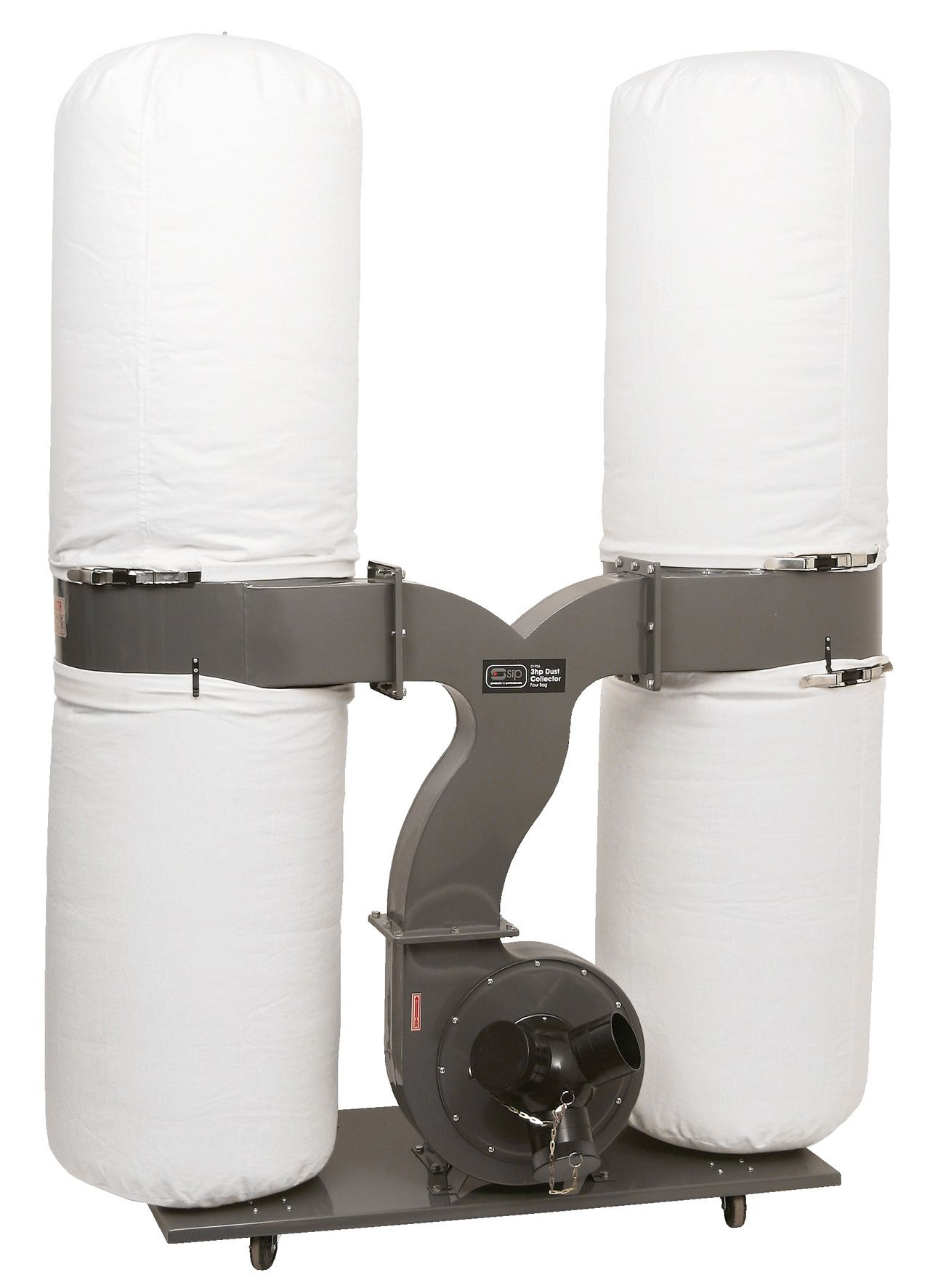 SIP 3HP Double Bag Dust Collector