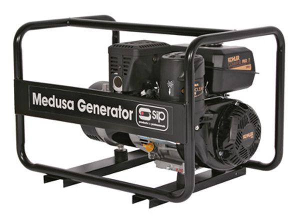 SIP Professional Medusa MGKP4.0F 4.5KVA Petrol Kohler Generator Full Frame