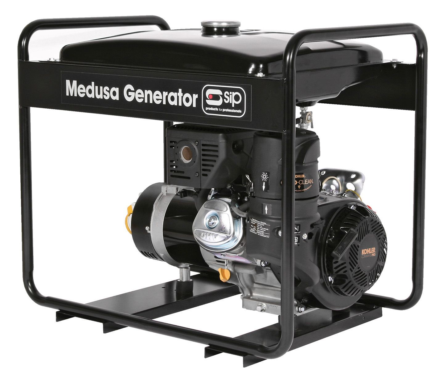 SIP Professional Medusa MGKP4.0FLR 4.5KVA Kohler Long Range Petrol Generator