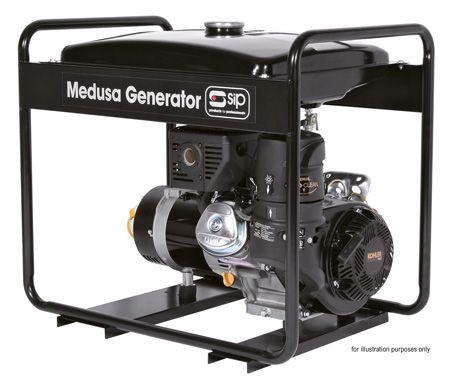 Sip Trade Medusa MGKP7.0FELR 7.5Kva Kohler Engine Generator Full Frame Long Rang