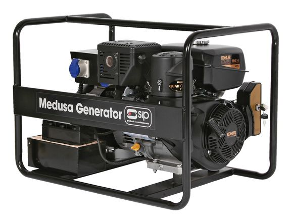 SIP Professional Medusa MGKP7.0F Kohler Full Frame 7.2Kva Petrol Generator