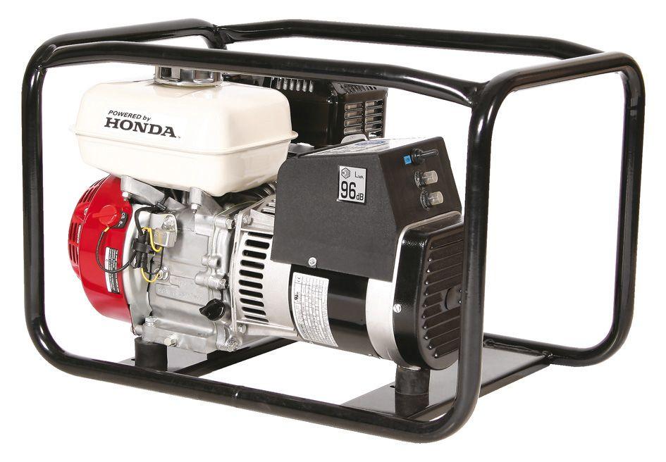 SIP Professional Medusa Mghp3.0F 3.75Kva Full Frame Petrol Generator Honda Engin