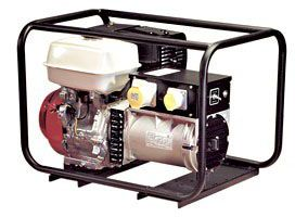SIP Professional Medusa Mghp4.0F 4.5Kva Full Frame Petrol Generator Honda Engine