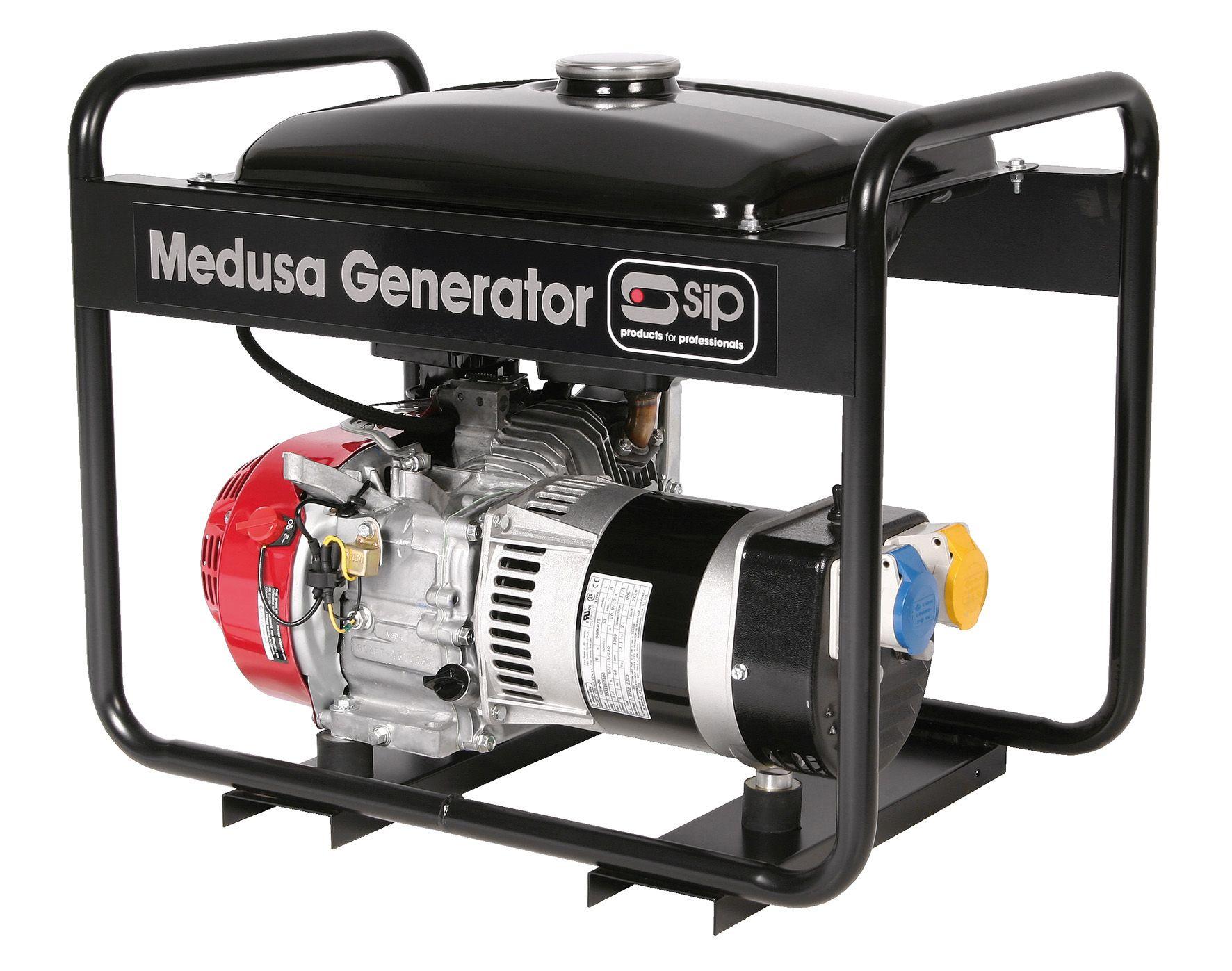 SIP Professional Medusa Mghp3.0Flr 3.75Kva Full Frame Long Range Petrol Generato