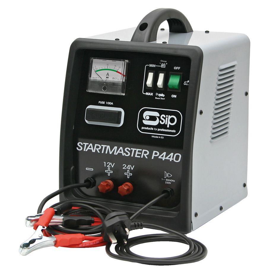 SIP Pro Startmaster P440 12v 24v 33A Starter Charger 230v