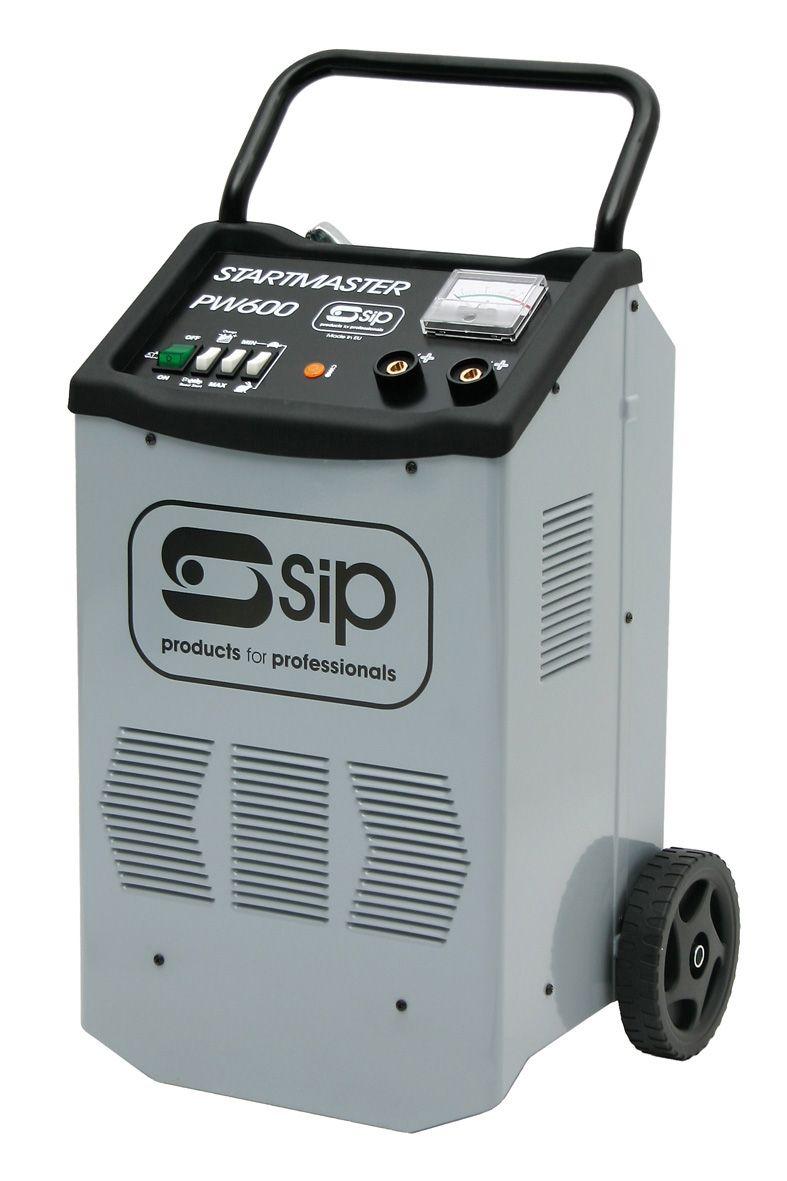 SIP Pro Startmaster PW600 12v 24v 45A Starter Charger 230v
