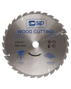 SIP Circular Saw Trimblade - 315 X 30Mm 60T+10Dg For 01350 / 01446