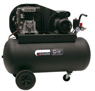 SIP Belt Drive Wheel Mounted Air Compressors 230V