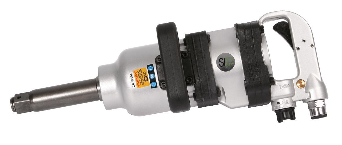 """SIP Professional 1"""" Air Impact Wrench Long Anvil Heavy Duty 1460 Ft Lbs"""