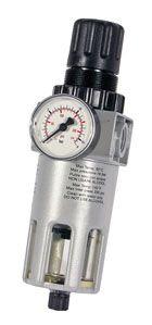 SIP Air Filter / Regulator With Gauge