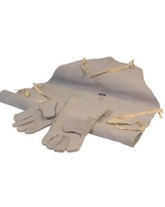 SIP Leather Welding Gloves And Apron