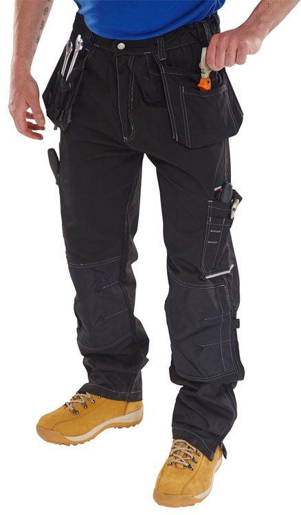 Click Workwear Shawbury Multi-Purpose Trousers Black