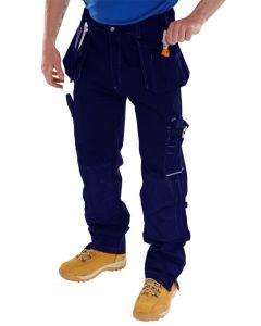 Click Workwear Shawbury Multi-Purpose Trousers Navy