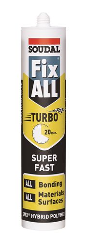 Soudal Fix All Turbo Adhesive Sealant White