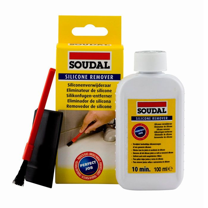 Soudal Silicone Remover Clear 100ml