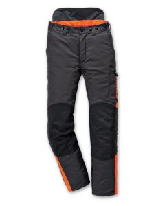Stihl Dynamic Chain Saw Trousers Class I Design C Grey