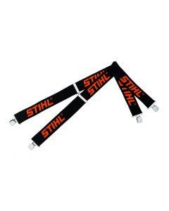 Stihl Black Braces With Metal Clips