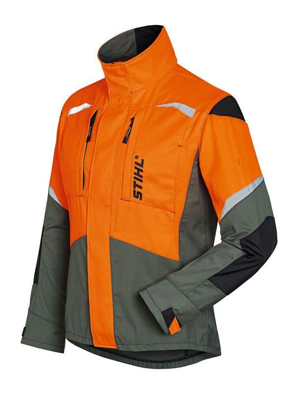Stihl Function Ergo Jacket Orange / Khaki